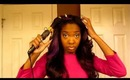 Get Ready With me Featuring my Purple Haireverywhere ( I SING THIS ENTIRE VIDEO)