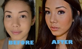 How I contour and highlight my face!