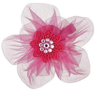 TARINA TARANTINO Tulle Flower Anywhere Clip