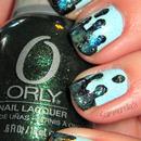Galaxy Drip Nails
