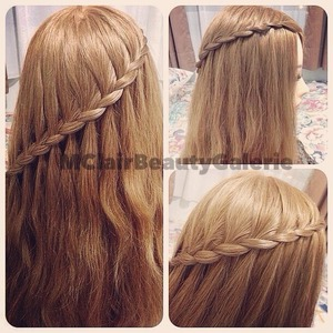 Style 1 of the Lace Braid..