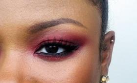 Holiday Look: Simple Red Smokies (Makeup Tutorial)