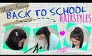 Three Easy Back to School Hairstyles - Ariana Grande Ponytail, Fishtail Braid & Twisted Braid