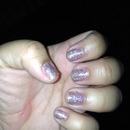 My glittery nails :)