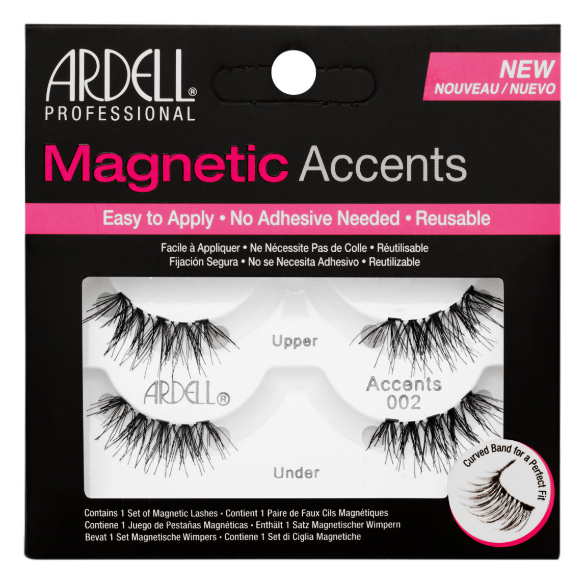 Ardell Magnetic Lashes Accents 002 alternative view 1.