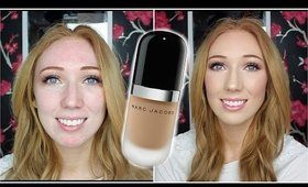 Marc Jacobs Remarcable Foundation On OILY SKIN | First Impression