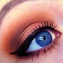 Warm summer makeup, using Makeup Geek!