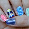 Pin Stripe Nails