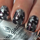 Autumn leaves nails