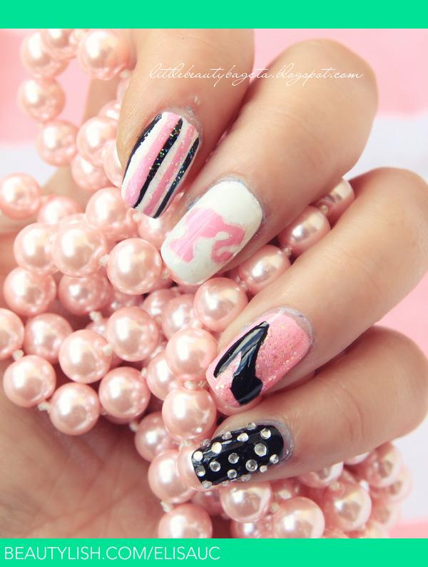 Barbie Nails | Elisa U.\'s (elisauc) Photo | Beautylish
