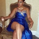 Classy Royal blue for Prom