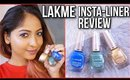 *NEW SHADES* LAKME Insta-Liners | Swatches and Review | Stacey Castanha
