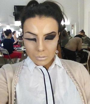 MakeUp Artist: Andra Avram Model: Bularda Andreea