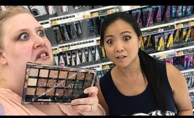 NEW Walmart Drugstore Makeup Shopping with Loni