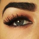 Bold wing; Smokey eye.