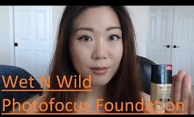 Gemi Review: Wet N Wild Photofocus foundation