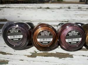 CG Metallic's Crackle Collection 'Latticed Lilac', 'Cracked Medallion' & 'Haute Metal'