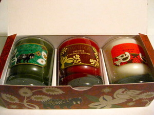 Pacifica Deck the Halls Soy Candle Trio