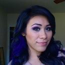 Blue haire