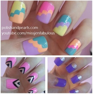 Video tutorials on my YouTube channel!!! youtube.com/missjenfabulous