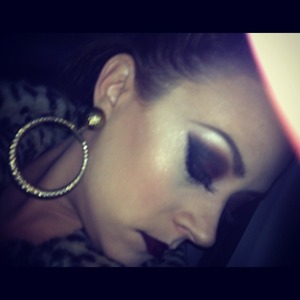 Heavy night out make up xx