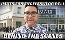 IMATS LOS ANGELES BEHIND THE SCENES VLOG PART 1 #MONDAYMAKEUPCHAT - mathias4makeup
