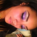 Loose Purple Glitter Eyeshadow