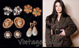 Vintage/ SecondHand Haul. Jewellery, Blazers, Belts
