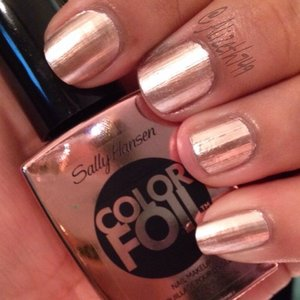 SALLY HANSEN COLOR FOIL 470 ROSE COPPER