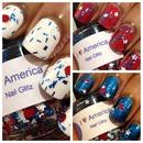 Neener Neener Nails - I Love America