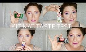 Japanese Kit Kat Taste Test