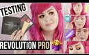 Testing Revolution Pro | First Impressions New From Makeup Revolution