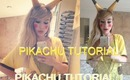 PIKACHU MAKEUP TUTORIAL!