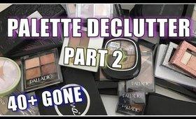Palette Declutter 2020 - Part 2