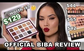EXPENSIVE AF NATASHA DENONA BIBA PALETTE REVIEW + SWATCHES | Maryam Maquillage