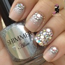 Swarovski Crystal Stud Nails