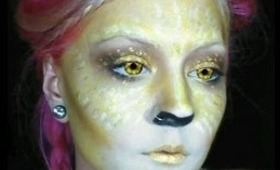 HALLOWEEN: yellow fairy #1 of color fairy series