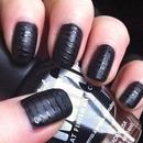 Matte Black Nail