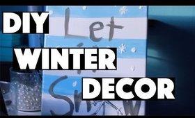DIY Winter Decor
