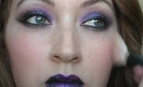 Purple Vamp Makeup