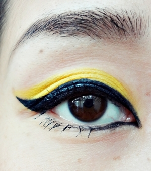 simple cat eye inspired by telephone video