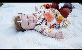 Most Adorable Baby Laughs | Tiny 9 month old is the same size as her doll | Turner Syndrome
