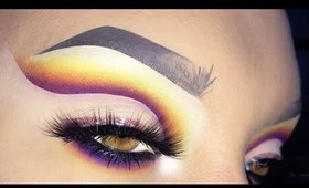 CUT CREASE: COME REALIZZARLA! How create a Sunset Cut Crease Tutorial