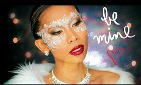 50 Shades Darker Anastasia Steele Inspired Makeup Valentines Day | AirahMorenaTV
