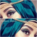 Arabic inspired look
