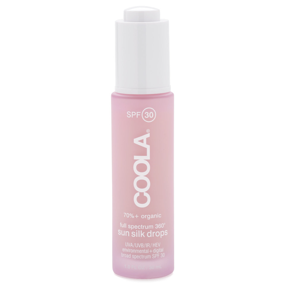 COOLA Classic Full Spectrum 360 Sun Silk Drops SPF 30 product smear.