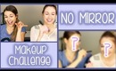 NO MIRROR Makeup Challenge    CLUBBING STYLE