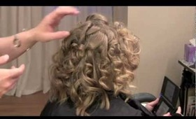 Twisted Updo (Hair Tutorial)