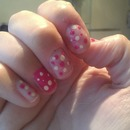 my free hand poka dots....