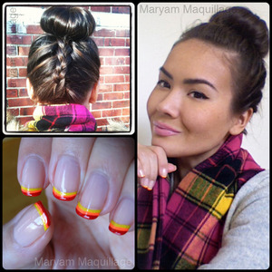 Hot Tips, Cool Buns :) http://www.maryammaquillage.com/2012/01/hot-tips-cool-buns.html